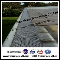 Wholesale Small hole alucminum guard gutter mesh for roof filter system from china suppliers