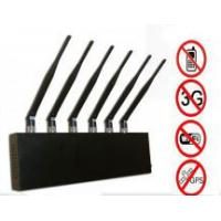 6 Antenna  for World Wide Usage WI-Fi  and GPS and  Cell phone Jammer