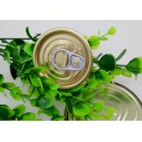 Wholesale Plastic Bottle / Tuna Tin Cans Easy Open Lid , Food Storage Tinplate Cover from china suppliers