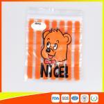 Custom Printed Ziplock Bags Biodegradable Plastic Storage Bags