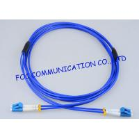 Wholesale High Resistance Fiber Optic Patch Cord Armored LC - LC Duplex G.657A from china suppliers
