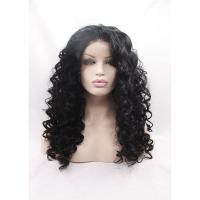 Wholesale Wholesale Price Deep Wave Synthetic Lace Front Wigs For Afro Women from china suppliers