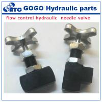 Wholesale Yuken type flow control hydraulic needle valve pressure switch GCT / GCTR -02 from china suppliers