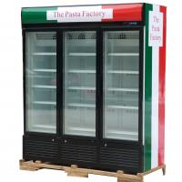 Wholesale 3 Doors Upright Commercial Display Freezer -25°C Fan Cooling With Automatic Defrost from china suppliers
