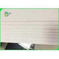 China Customizable Grey Board Paper for Jewellery Box 2.0mm / 3.0mm Thickness on sale