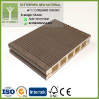 Wholesale Durable Exterior Patio Garden Composite Deck Cladding 3D Embossed Waterproof Wood Plastic WPC Flooring from china suppliers