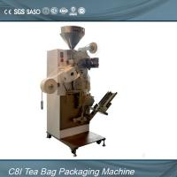 Quality Single Chamber Tea Bag Packing Machine For Inner Teabag With Thread , Tag for sale