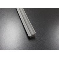 Wholesale Gray Long Side EPDM Rubber Extrusion Embedded , Window Weather Stripping from china suppliers