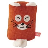 Stuffed Linen Animals Washable Dog Toys With Squeaker Eco-friendly