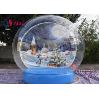 Wholesale Snow Globe Blow Up Christmas Ball Inflatable Holiday Decor For Special Events And Occasions from china suppliers