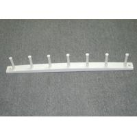 Wholesale Simple Wooden Wall Clothes Rack , MDF Wall Mounted Coat Hooks 610 X 40 X 20 mm from china suppliers