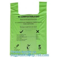 China Eco Friendly Disposable Biodegradable and Compostable Kitchen Waste Trash Collection, Biobased Refuse Sacks, Gallon Frie on sale