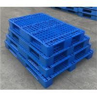 Wholesale 1200*1000*150 mm  Jiangsu China Stack-able plastic pallet with 6 runners bottom and open deck from china suppliers