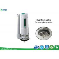 Wholesale One Piece Toilet Flush Valve With Adjustable Dual Flush System from china suppliers