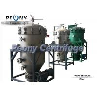 Wholesale Plate Type Food Grade PNYB Series Hermetic Pressure Leaf Filter from china suppliers