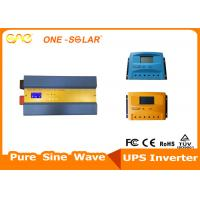 2000W 24V Solar Power Inverter 50A PWM Solar Charge Controller For Solar Power System