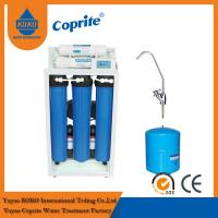 Wholesale 200 / 400 GPD Reverse Osmosis Water Filtration System / Triple Water Filter With 11G Steel Tank from china suppliers