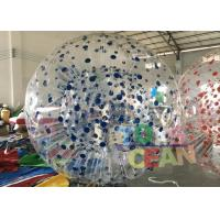 Wholesale Colorfull Dot Shinning Inflatable Zorb Ball For Outdoor Sport Game from china suppliers
