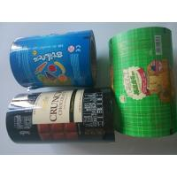Wholesale Vegetable / Snack Food Packaging Plastic Film Rolls Personalised Colored from china suppliers
