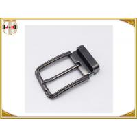 Wholesale Customized Reversible Metal Belt Buckle With Drum / Garment Accessory from china suppliers