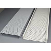Quality Aluminium Ceiling Strips / False Ceiling Panels Corrosion Resistance for sale