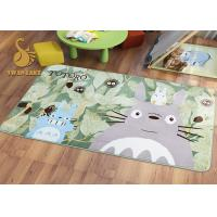 Wholesale Short Plush Digital 3D Printed Non Slip Area Rugs For Bedroom / Living Room from china suppliers