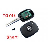 Wholesale Automobile Toyota 48 Car Key Shell Electronic 4c Copy Chip Key from china suppliers