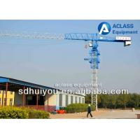 Construction Lift Equipment Flat Top Tower Crane 6 Ton 55 Meters Jib