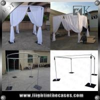 trade show display booth photo booth enclosure made by pipe and drape