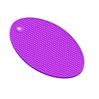 Wholesale Elliptic Honeycomb silicone insulation pad from china suppliers