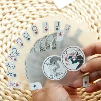 Wholesale Silver Foil Stamping Transparent PVC Plastic Cards Translucent 0.3 - 0.76 Mm Thickness from china suppliers