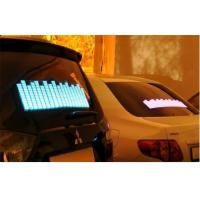 Wholesale Music Activated LED Equalizer Car Sticker For Window Powered By Cigarette Lighter DC12V from china suppliers