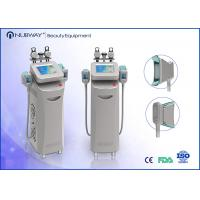 Wholesale 1800W Fat Dissolving Cryolipolysis Slimming Machine2'' Handle Screen 10mhz RF from china suppliers