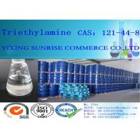 Quality CAS 121-44-8 Triethylamine Strong Ammonia Smell Liquid Soluble In Ethanol / Ether for sale