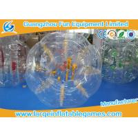 Wholesale Human inflatable bumper bubble ball Customized Size Loopy Hamster Football from china suppliers