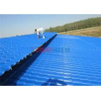 Quality PVC / PMMA Anti - Corrosion Glazed Roof Tiles Making Machine For Residential Areas for sale