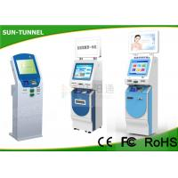 Wholesale Floor Standing Card Dispenser Kiosk , Check Cashing Kiosk With Account Inquiry / Transfer from china suppliers