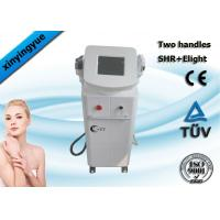 Wholesale Professional 2 handpiece pain free hair removal  / freckle removal SHR ipl machine from china suppliers