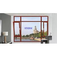 Toughened Glass Wooden French Windows And Doors Strong Temperature Resistance