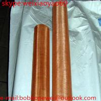 Wholesale 0.1mm shielding copper mesh/paper-making phosphate copper wire  mesh/Copper Wire Mesh with Decoration from china suppliers