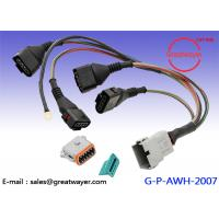 Wholesale Deutsch 12 Pin Socket Custom Wire Harness / Wiring Harnesses VW Engine PET Shielding Tube from china suppliers