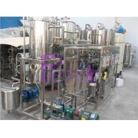 Wholesale 1000L/H Vacuum Deaerator Juice Processing Equipment With SUS304 Vacuum Degassing Machine from china suppliers