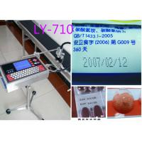 Buy cheap Serial Number Stamping Machine Inject Printer/LY-710/bottle date printing machine from wholesalers