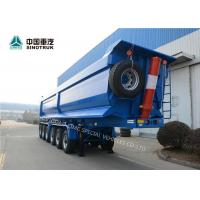 China High Strength Steel CIMC Semi Truck And Trailer 6 Axles 120 Tons In Blue on sale