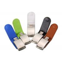 Wholesale OEM Leather USB Flash Pen Drive 4GB 8GB 16GB 32GB Pendrives with Custom Logo from china suppliers