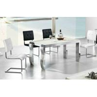 Wholesale dining table, dining set, marble table, glass table, dining chairs, #6003 from china suppliers