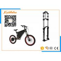 Wholesale 19 Inch Full Suspension Electric Mountain Bike 5000w With Carbon Steel Frame Material from china suppliers