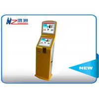 Wholesale HD wifi foor stand LED information self service kiosk with media display from china suppliers