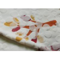 Wholesale 100% Polyester Cutting Flannel Fleece Fabric With Flower Design from china suppliers