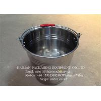 Wholesale Stainless Steel Water Bucket , Milk Pail With 16 Liters Capacity from china suppliers